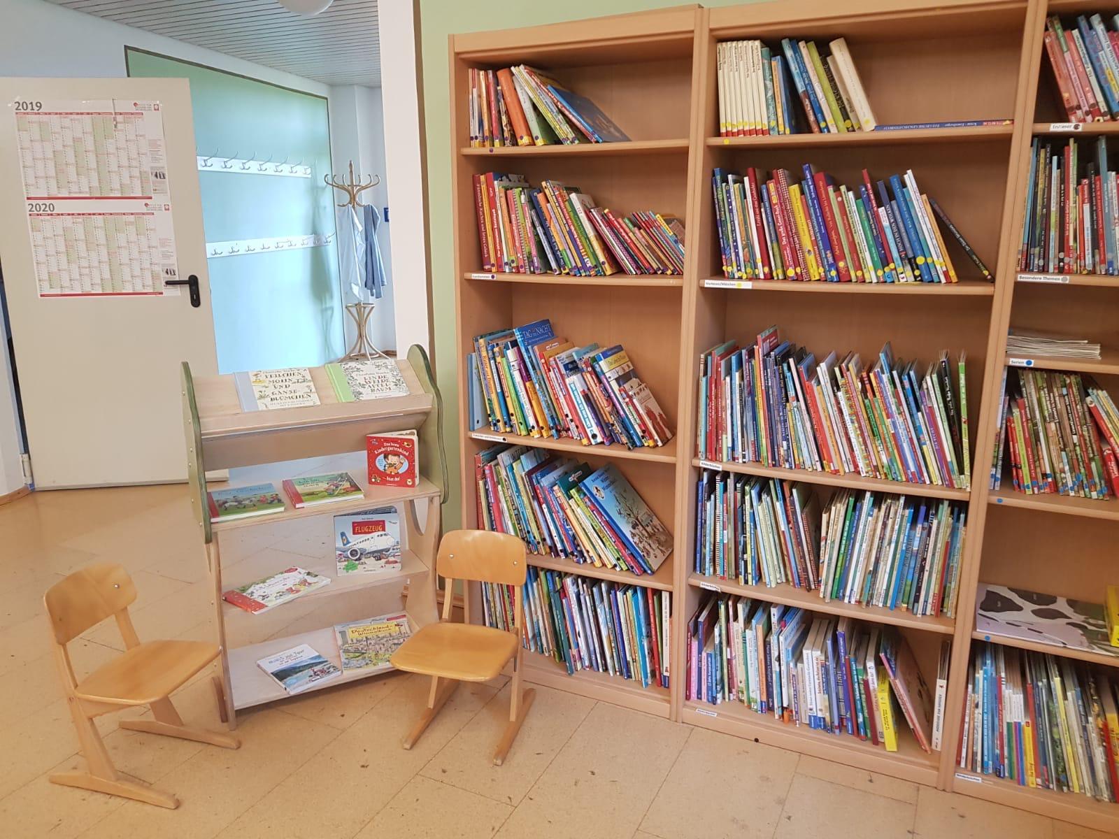 Grossansicht in neuem Fenster: Bücherei bei den kleinen Wölfen